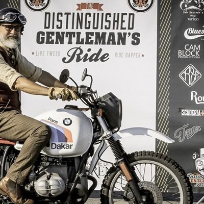 The Distinguished Gentleman's Ride Firenze 2018