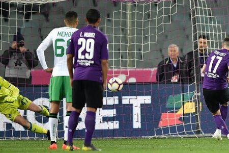 Fiorentina – Sassuolo 0 – 1