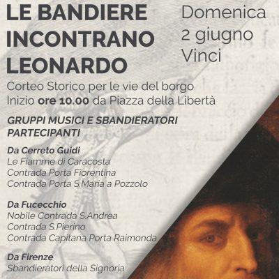 Le Bandiere incontrano Leonardo