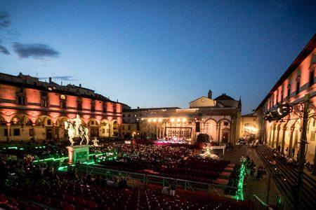 Grandi spettacoli serali nel cuore di Firenze