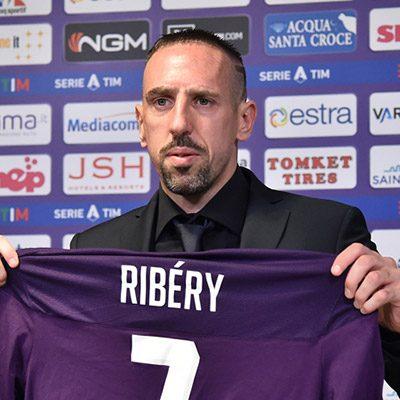Presentazione di Frank Ribery