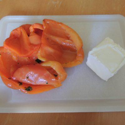 Crema di peperoni e robiola
