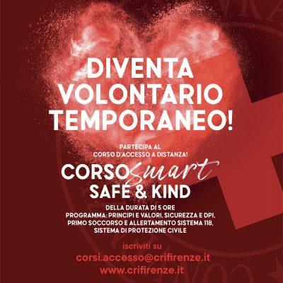 Croce Rossa Italiana cerca volontari temporanei