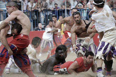 Sorteggio del Calcio Storico Fiorentino 2020
