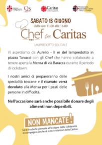 Chef per Caritas e il lampredotto solidale