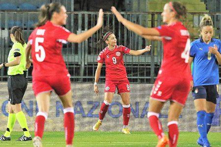 Italia – Danimarca 1 – 3 – Qualificazione Campionato Europeo 2021