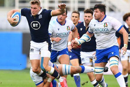 Rugby: Italia Scozia 17 – 28